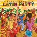 Portada disco - Latin party - Cecilia Noel