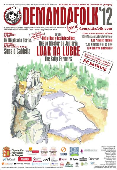 Cartel Demanda Folk 2012