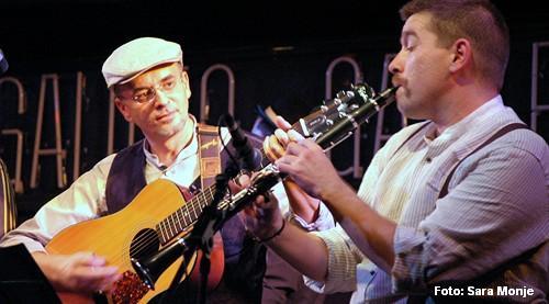 Ángel Goyanes y Héctor López