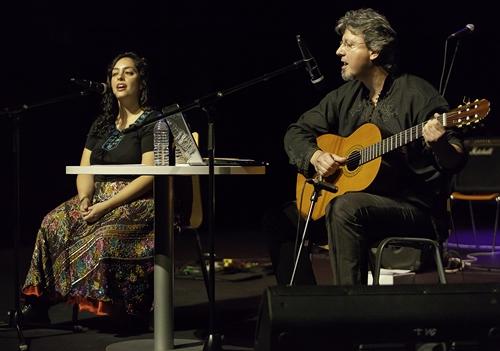 Araceli Tzigane y Juan Antonio Vázquez. Foto: Woody Gómez