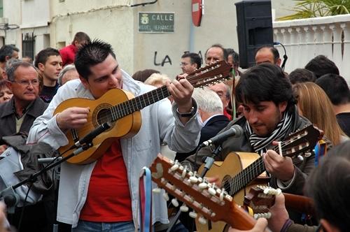Fiesta en Barranda. Foto: Carlos Monje