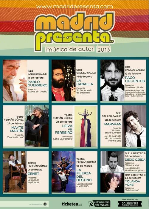 madrid presenta 2013