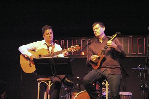 Benito Cabrera y Tomás Fariña