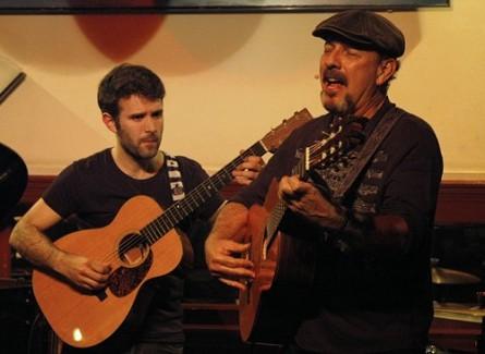 Javier Ruibal y José Recacha