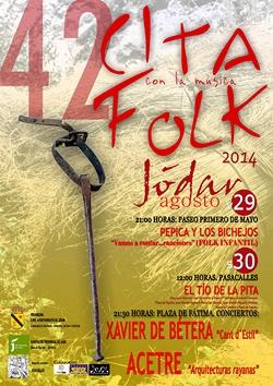 cita folk Jódar 2014