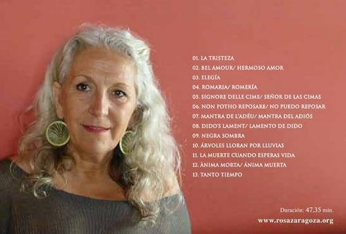 Rosa Zaragoza tras