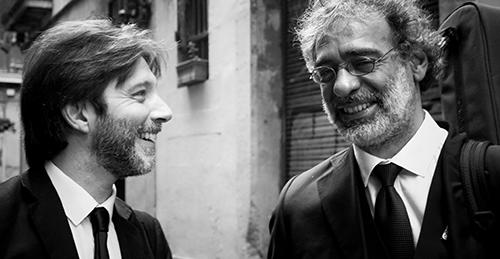 Marcelo Mercadante y Gustavo Battaglia