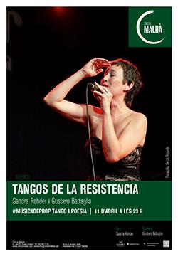 Tangos de la resistencia. Sandra Rehder