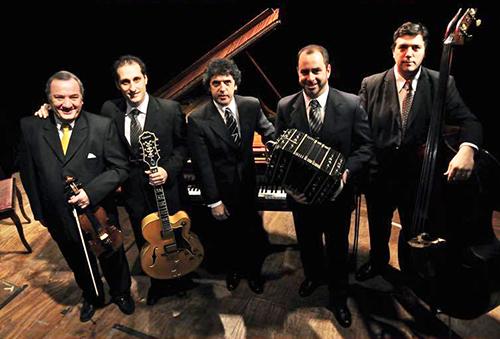 Quinteto Real. César Salgán