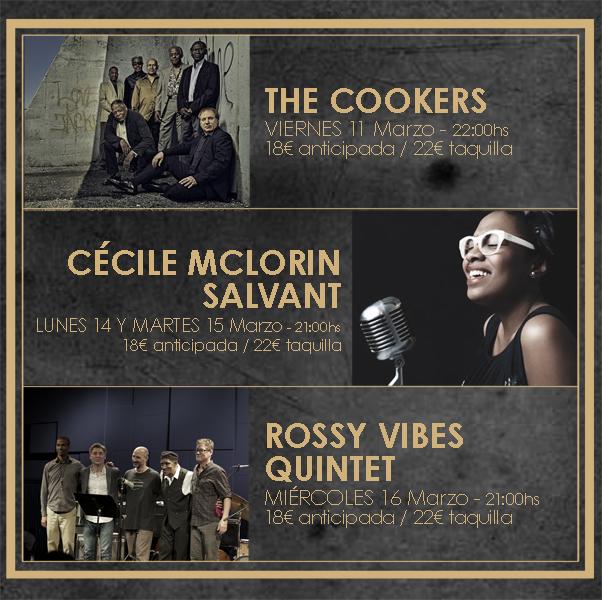 The Window Cécile Mclorin Salvant: Cécile McLorin Salvant, The Cookers Y Rossy Vibes Quintet