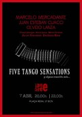 Mercadante. Five Tango Sensations