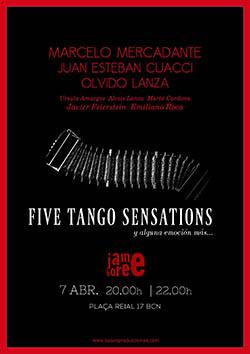 Mercadante. Five Tango Sensations
