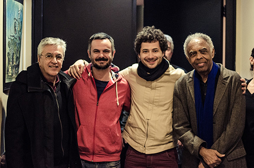 Caetano Veloso, Seba Dorso, Marcos Monk, Gilberto Gil