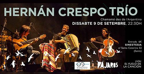Hernan Crespo Trio