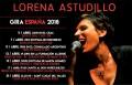 Lorena Astudillo. Gira 2018