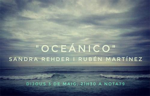 Sandra Rehder y Ruben Martinez. Oceanico