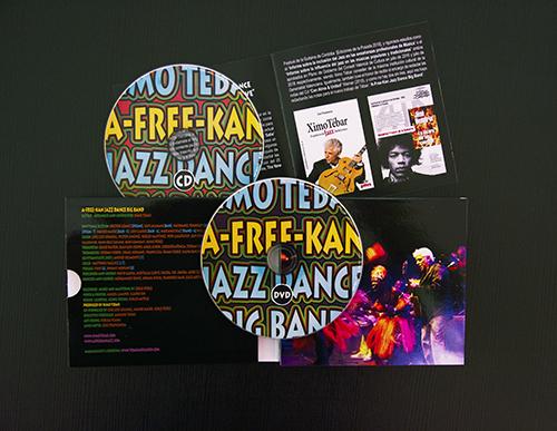 Ximo Tébar - A-Free-Kan Jazz Dance Big Band - 500